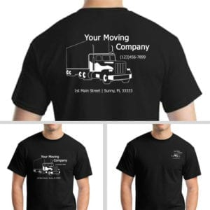 Black Moving Company T-Shirt