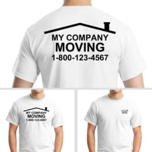 Personalized Shirts for Moving Company