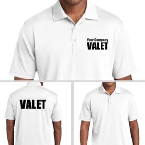 Personalized Valet Polos